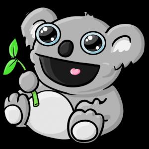 Cute Koala Clipart.
