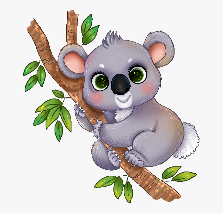 Free To Use &, Public Domain Koala Clip Art.