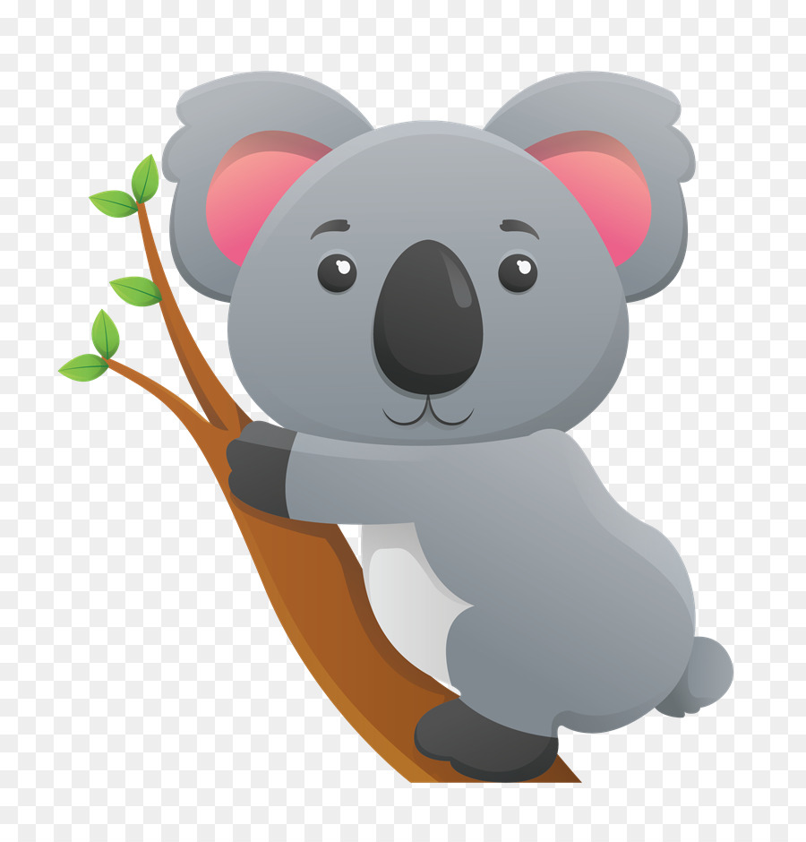 Koala Cartoon clipart.