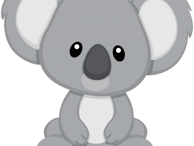 Koala Bear Clipart Cute.