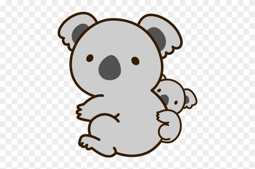 Transparent Koala Cute Clip Free Download.