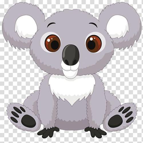Baby Koala Bear , rhino transparent background PNG clipart.
