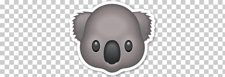 Koala Emoji, koala PNG clipart.