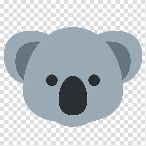Koala , Australia Koala Emoji Sticker iPhone, koala.