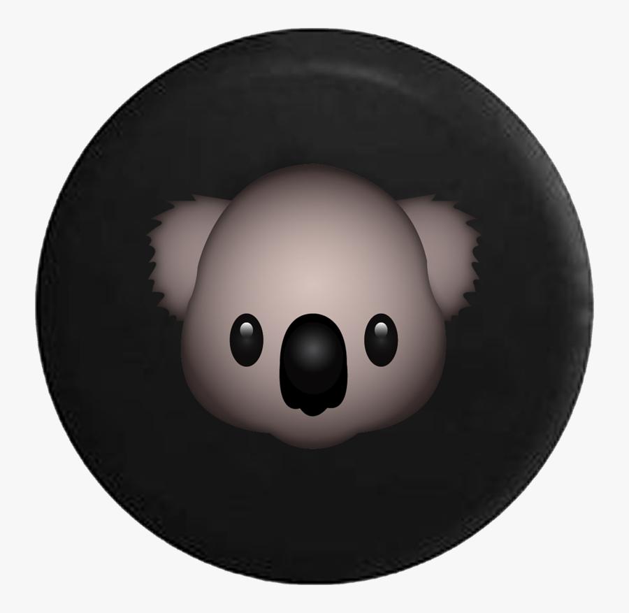 Cute Koala Bear Text Emoji.