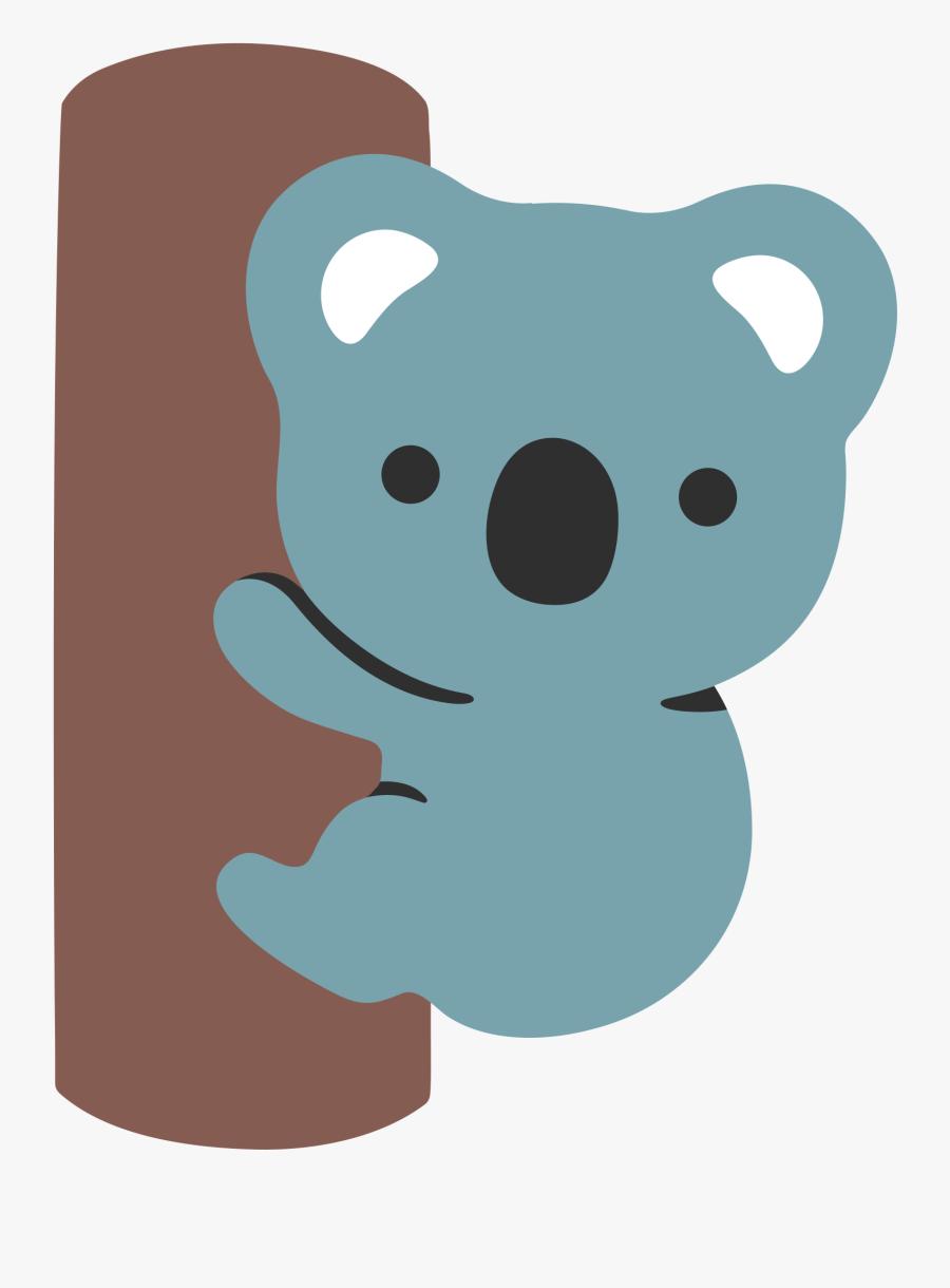 Koala Clipart Emoticon.