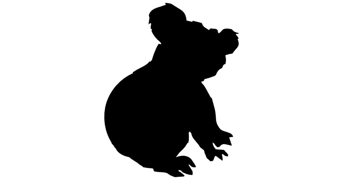 Koala Silhouette.