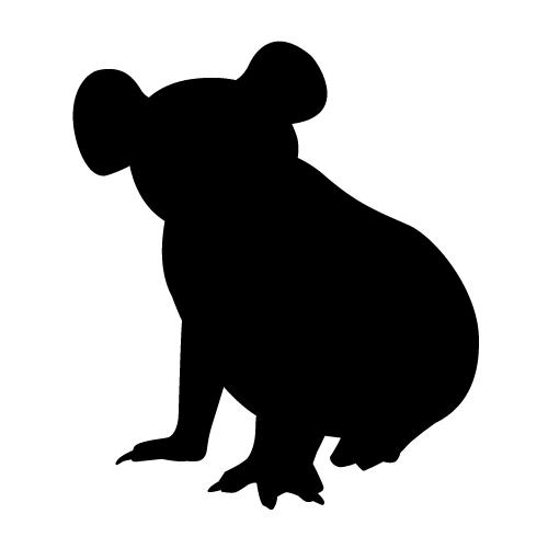 Best Photos of Koala Bear Silhouette.