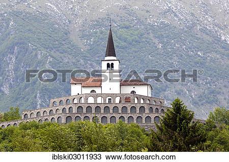 "Stock Photo of ""Church of Sveti Anton, St. Anthony's Church, with."