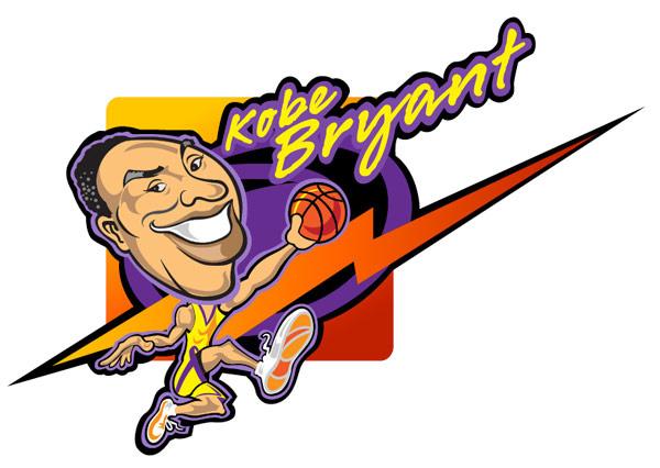 Basketball Caricature.
