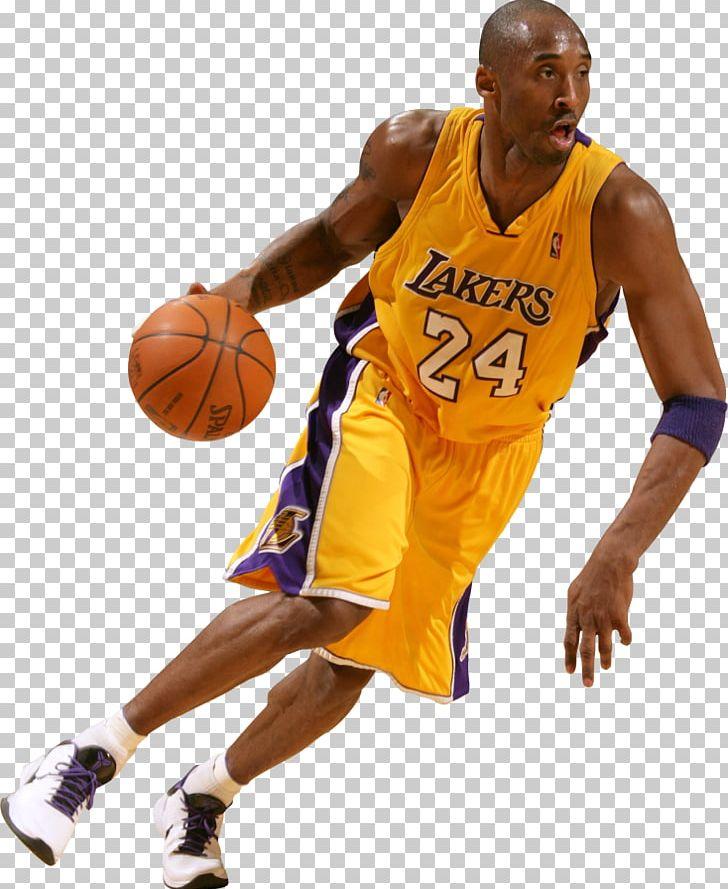 Kobe Bryant Los Angeles Lakers The NBA Finals Basketball PNG.