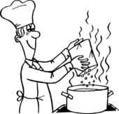 Cook Clip Art.