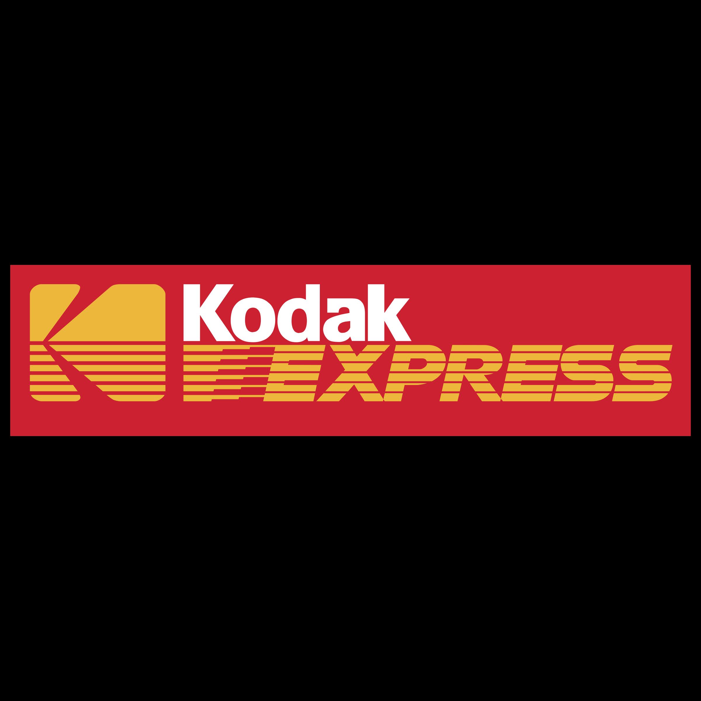 Kodak Express Logo PNG Transparent & SVG Vector.