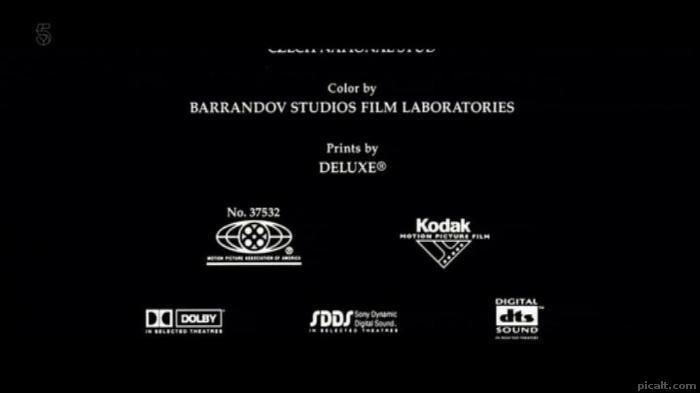 Color by BARRANDOV STUDIOS FILM LABORATORIES Prints by.
