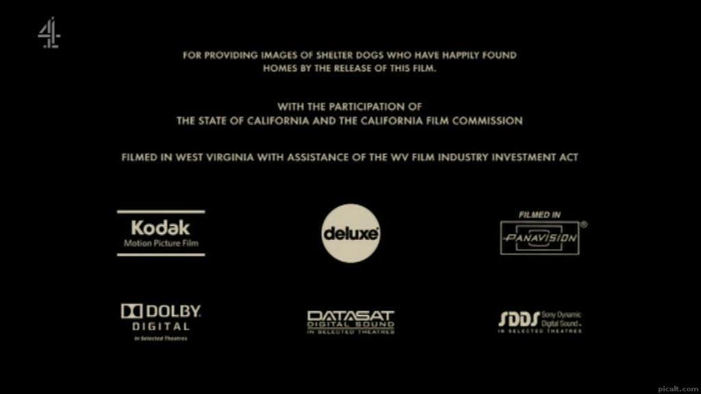 Kodak Motion Picture Film deluxe FILMED IN PANAVISION DOLBY.