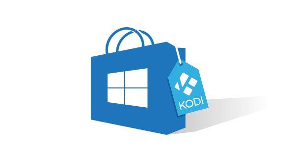Kodi goes Windows Store.