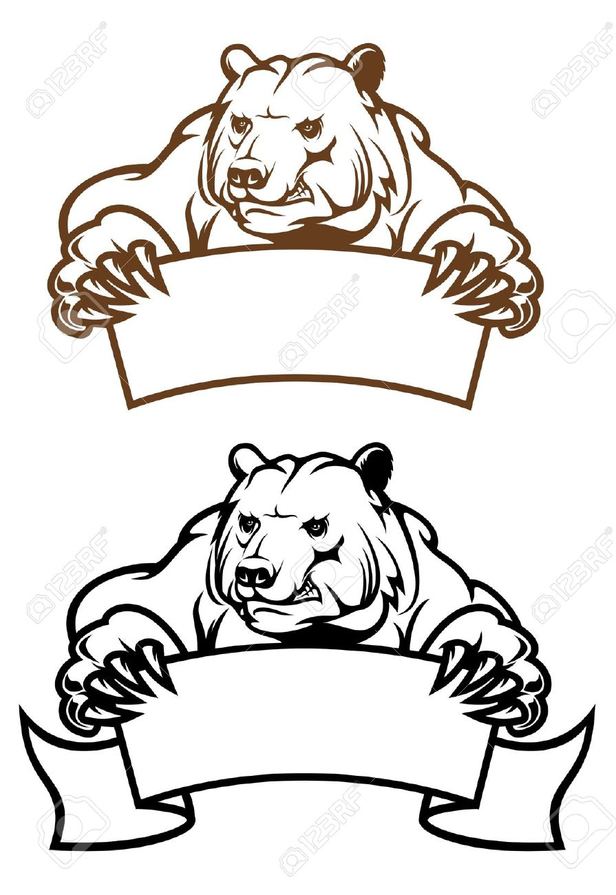 5,077 Grizzly Bear Cliparts, Stock Vector And Royalty Free Grizzly.