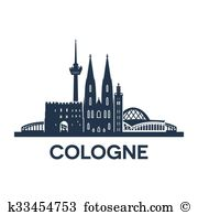 Cologne cathedral Clip Art Royalty Free. 64 cologne cathedral.