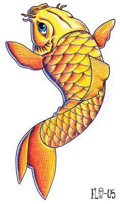 Koi Fish Clip Art.