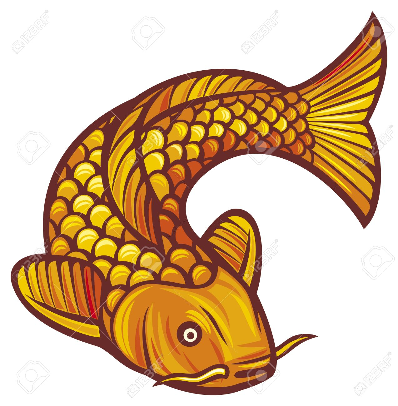 Koi clipart clipground for Koi fish vector