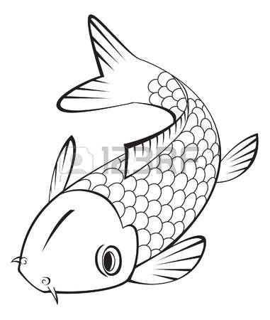 Koi fish clipart #20