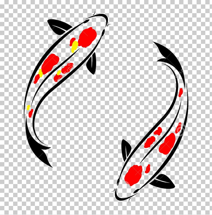 Kōhaku graphics Drawing , koi fish PNG clipart.