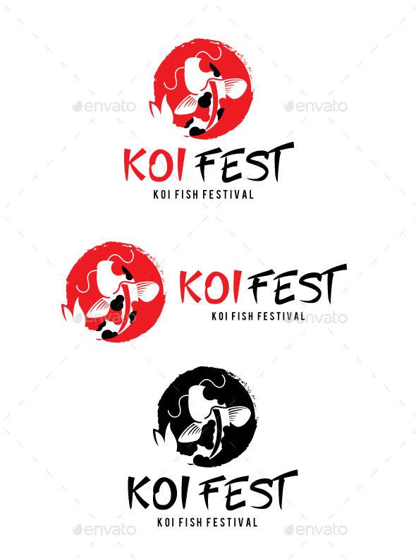 Koi Fest Logo.
