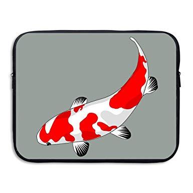 Amazon.com: Business Briefcase Sleeve Koi Fish Logo Laptop.