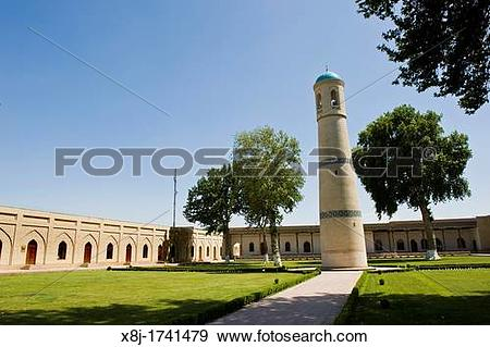 Stock Photograph of Uzbekistan, Kokand, Jome mosque x8j.