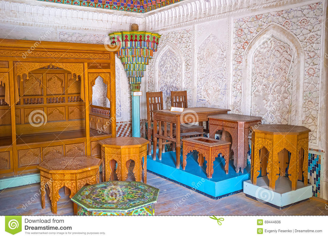 The Uzbek Art In Kokand Editorial Image.