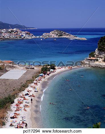 Stock Photo of Samos Island, Kokari pcl17294.