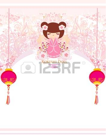 473 Kokeshi Stock Illustrations, Cliparts And Royalty Free Kokeshi.
