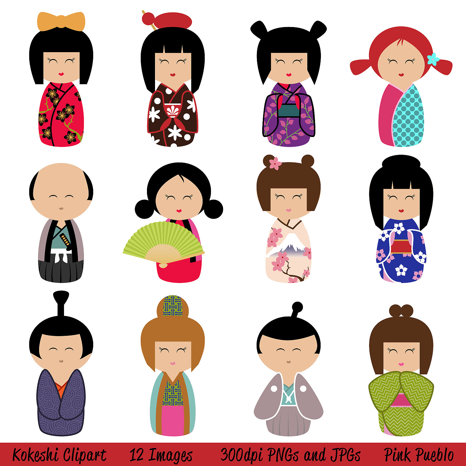 1000+ images about Kokeshi Dolls on Pinterest.