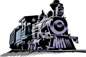 Locomotive Clipart Picture.