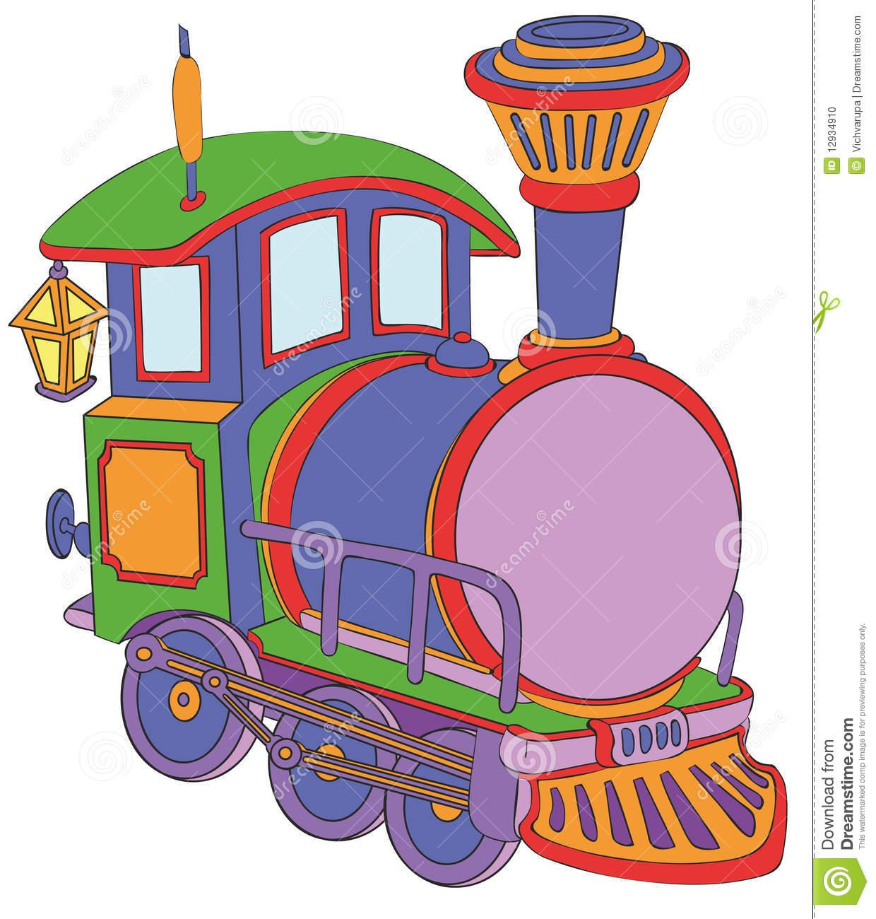 Lokomotive Clipart.