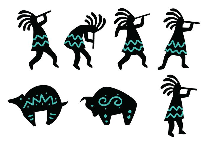 Kokopelli Figure.