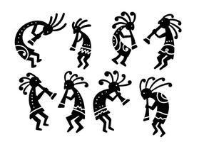 Kokopelli Free Vector Art.