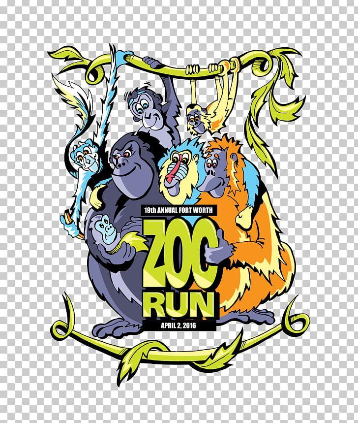Fort Worth Zoo Zoo Run 2018 Pearl Snap Kolaches Recreation.
