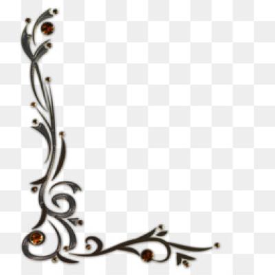 Download Free png Border Design PNG Floral Border Design..