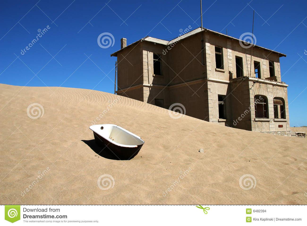 Kolmanskop Ghost Town, Namibia Stock Images.