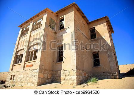 Stock Image of The Ghost city in Kolmanskop.