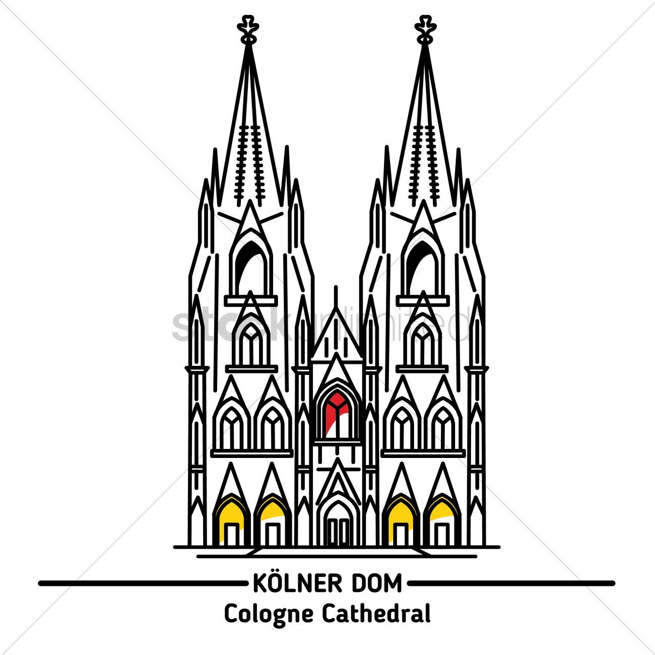 Kölner Dom Comic