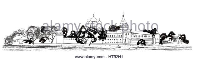 Kolomna Black and White Stock Photos & Images.