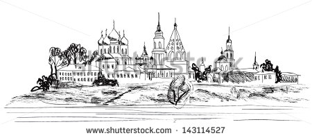 The Golden Ring Of Russia Stock Vectors & Vector Clip Art.