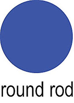 Amazon.com: Cowdery Round Rod 1.0mm, Blue.