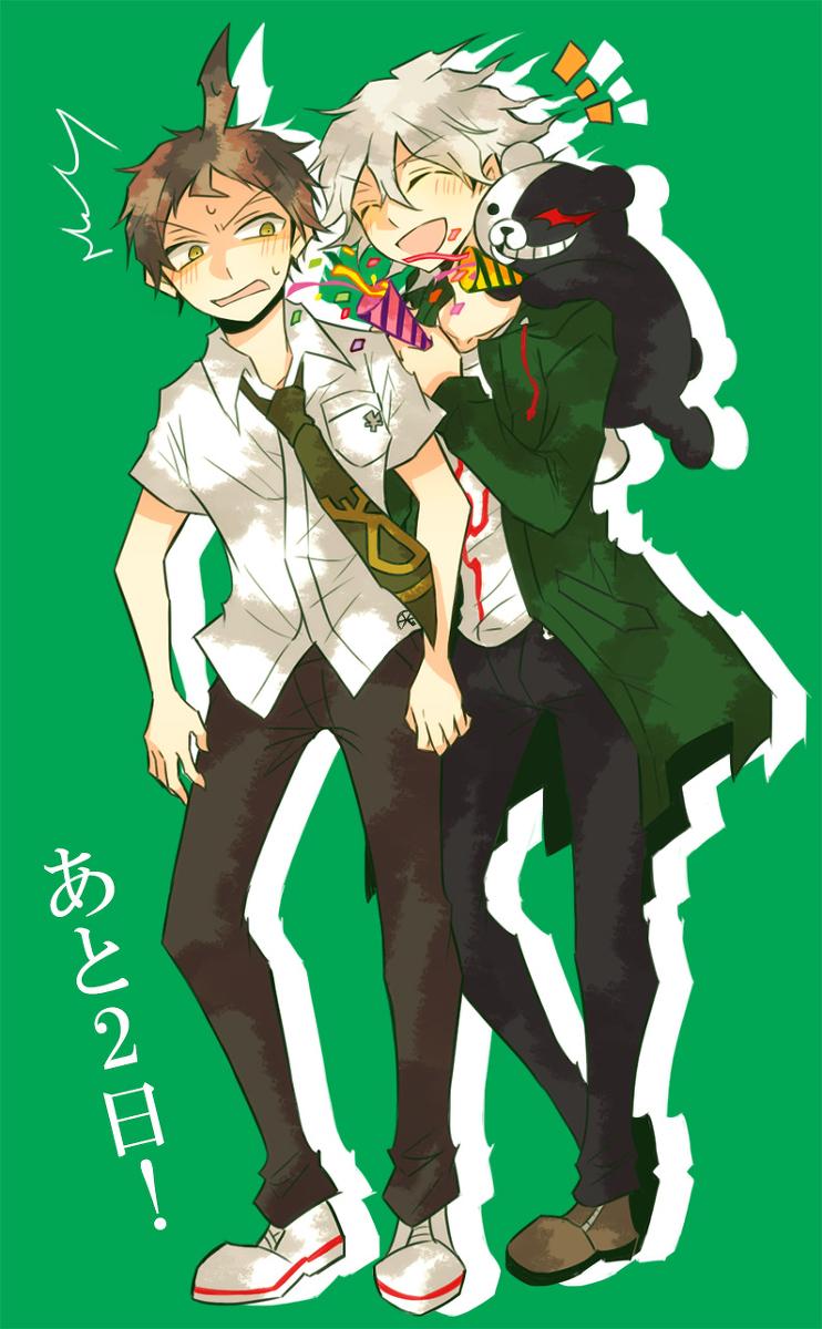 Hajime Hinata and Nagito Komaeda..
