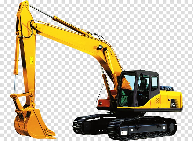 Komatsu Limited Heavy Machinery Excavator Architectural.