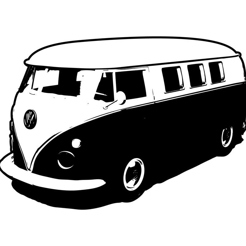 Vw Van Clipart.