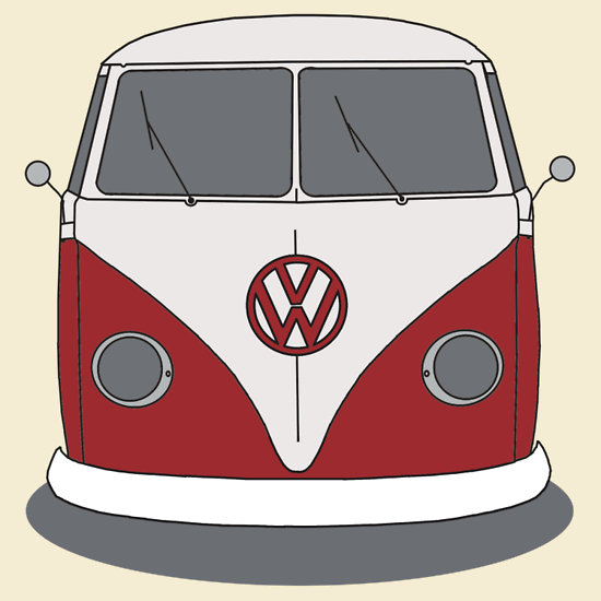 Kombi clipart - Clipground