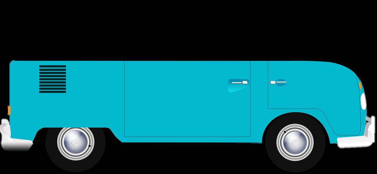 Vanagon Volkswagon Kombi Van PNG.